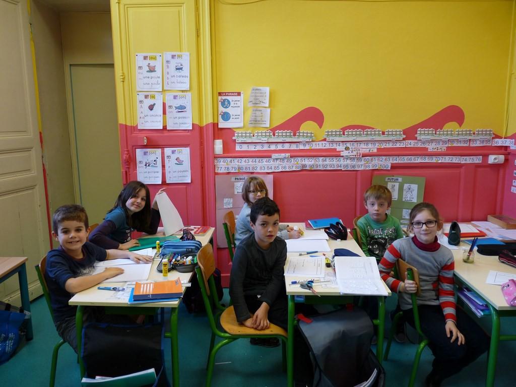 Ecole Saint Joseph Classe élèves